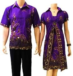 Baju Batik Sarimbit Modern Murah SM20