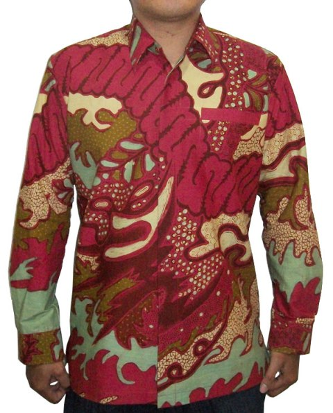 Kemeja Batik Pria 011