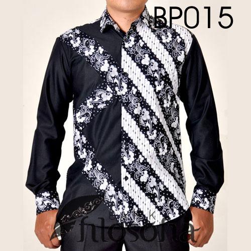 Kemeja Batik Pria 015