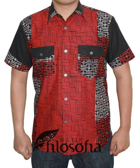 Kemeja Batik Pria 016