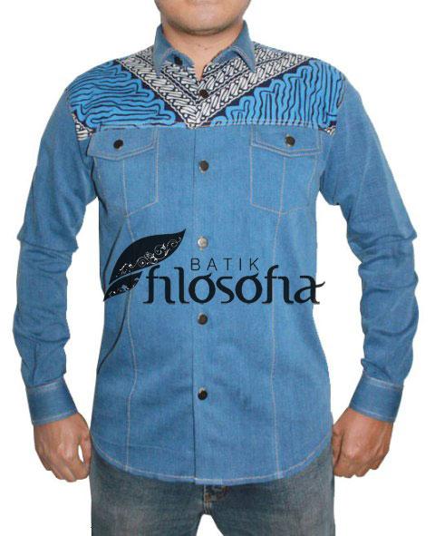 Kemeja Batik Pria 022