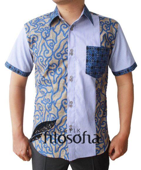 Kemeja Batik Pria 052