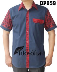 Kemeja Batik Pria 059