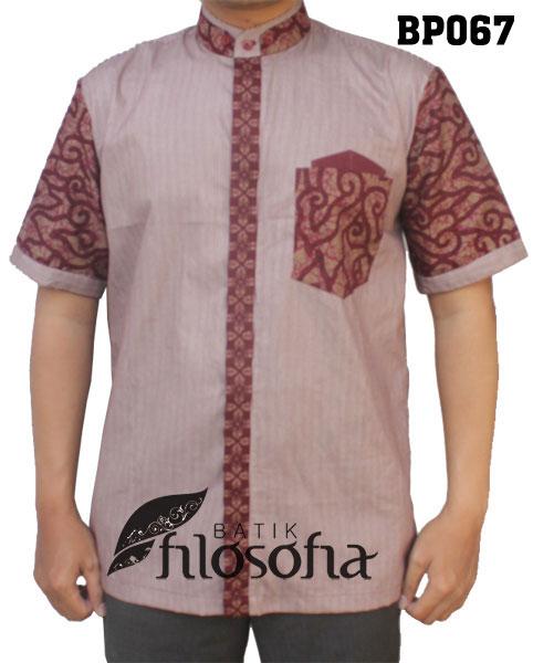 Baju Koko Batik 067