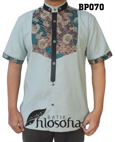 Baju Koko Batik 070
