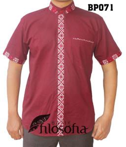 Baju Koko Batik 071