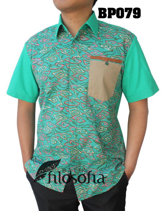 Kemeja Batik Pria 079