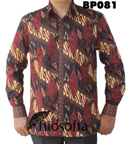 Kemeja Batik Pria 081