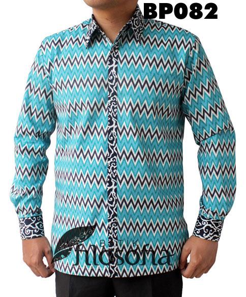 Kemeja Batik Pria 082