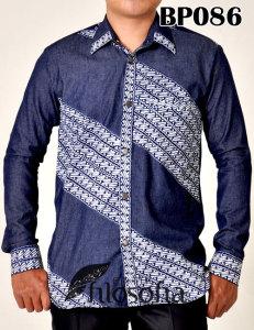 Kemeja Batik Pria 086