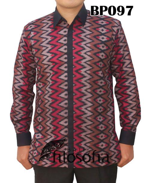 Kemeja Batik Pria 097