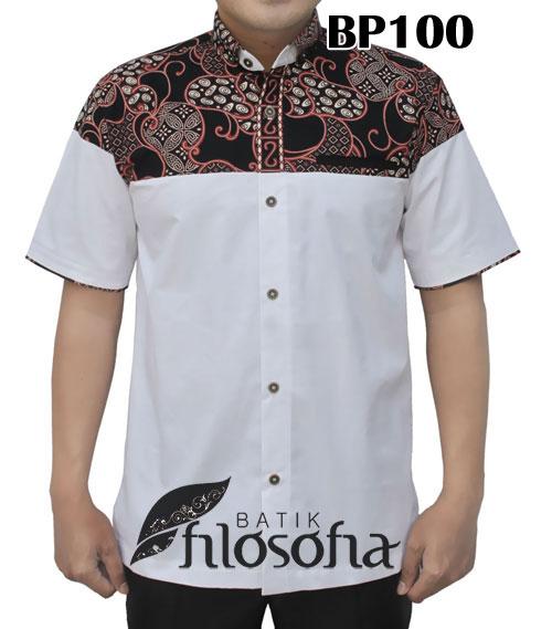 Kemeja Batik Pria 100 Batik Filosofia