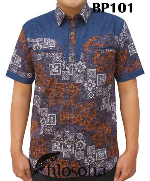 Kemeja Batik Pria 101