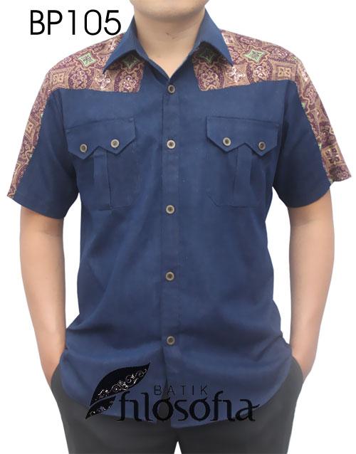 Kemeja Batik Pria 105
