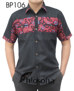 Kemeja Batik Pria 106