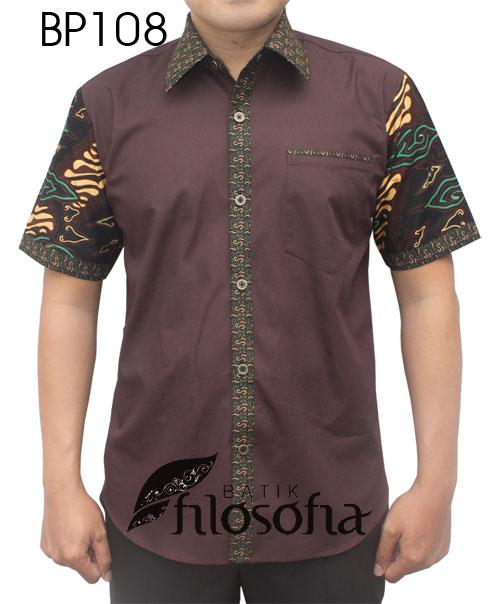 Kemeja Batik Pria 108