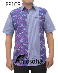 Kemeja Batik Pria 109
