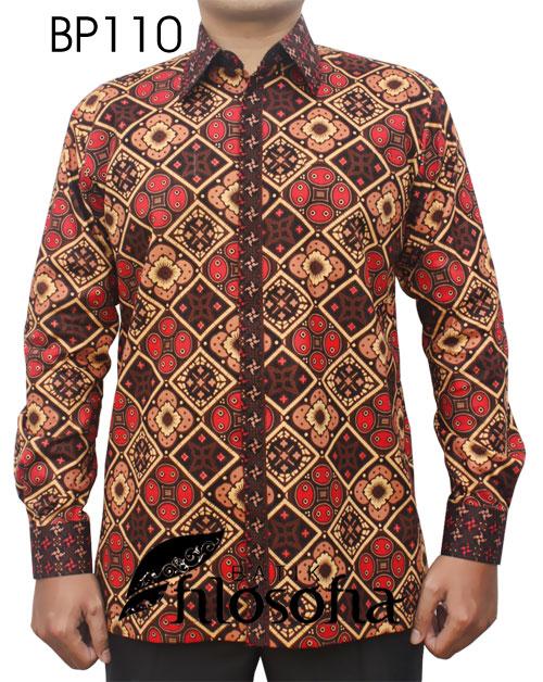 Kemeja Batik Pria 110