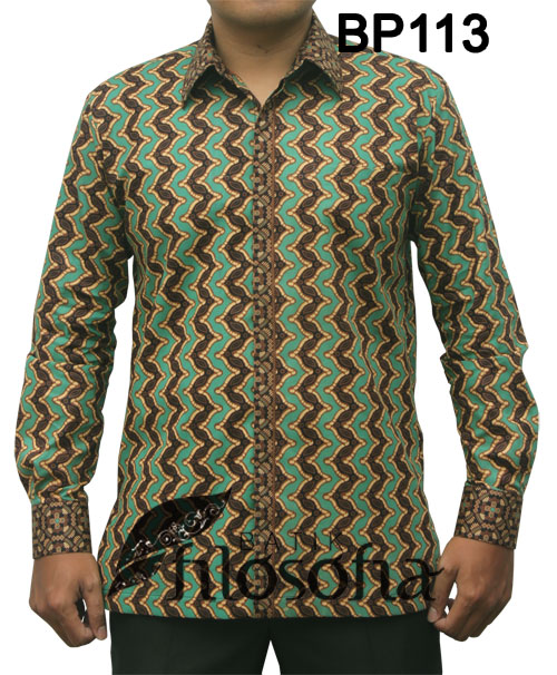 Kemeja Batik Pria 113