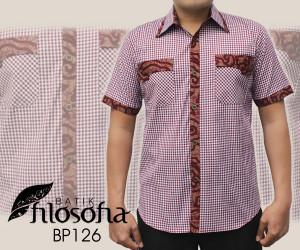 Kemeja Batik Pria 126
