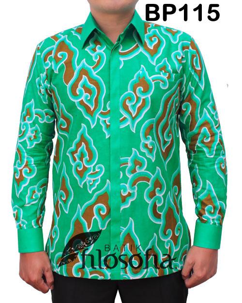 Kemeja Batik Pria 115