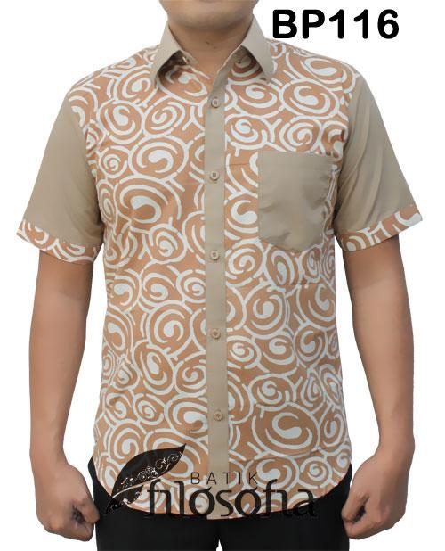 Kemeja Batik Pria 116