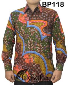 Kemeja Batik Pria 118