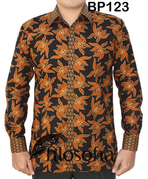 Kemeja Batik Pria 123