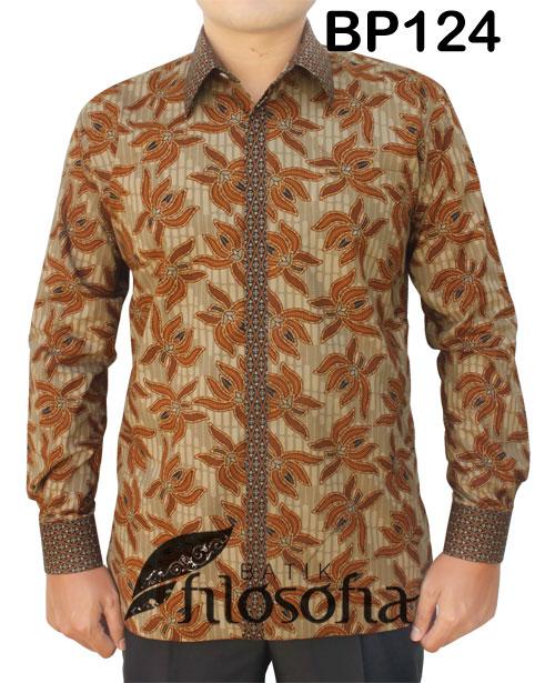 Kemeja Batik Pria 124