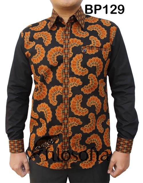 Kemeja Batik Pria 129