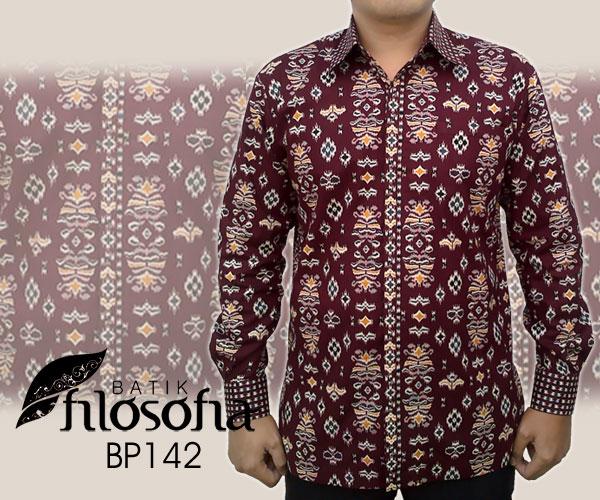 Kemeja Batik Pria 142