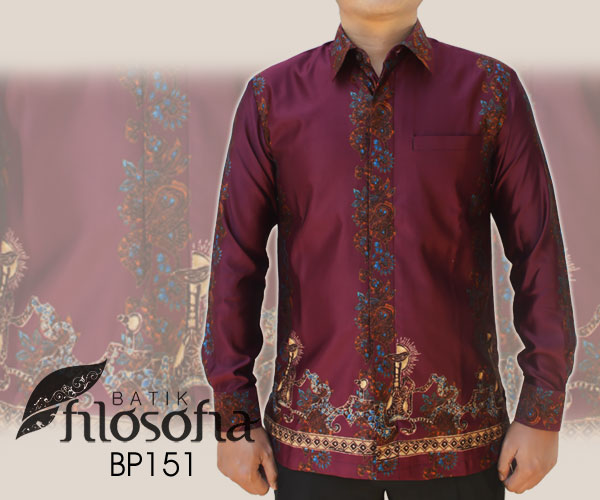 Kemeja Batik Pria 151