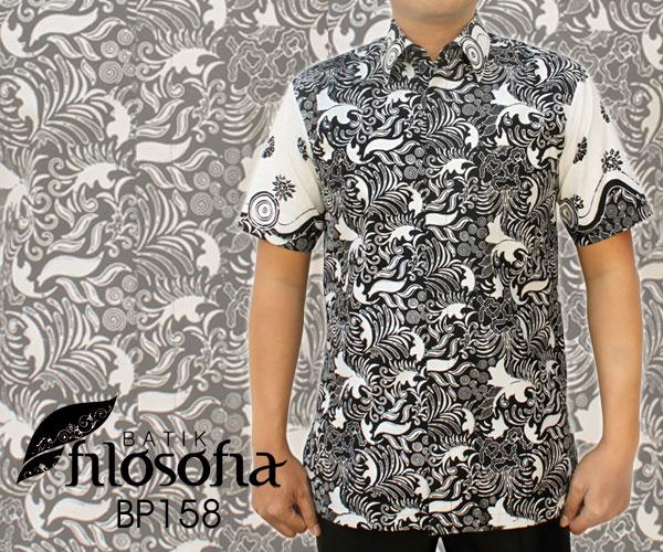 Kemeja Batik Cap 158