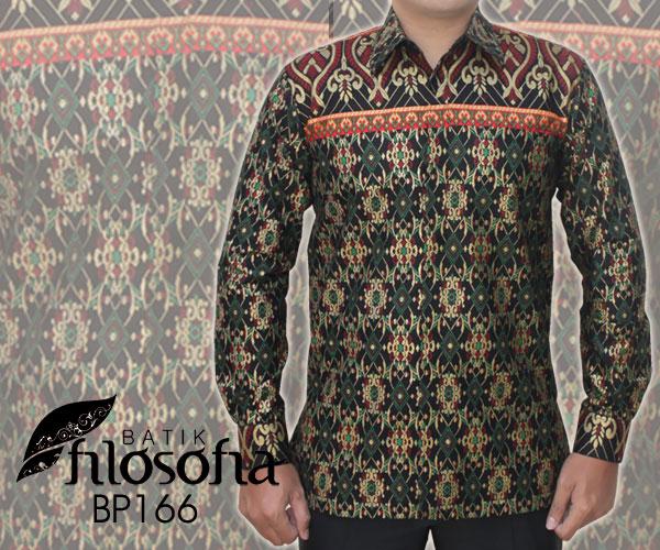 Kemeja Batik Pria 166