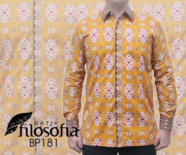 Kemeja Batik Pria Katun 181