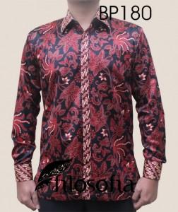 Kemeja Batik Semi Sutra 180
