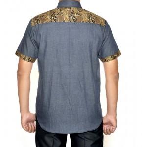 Batik Kombinasi Denim 183