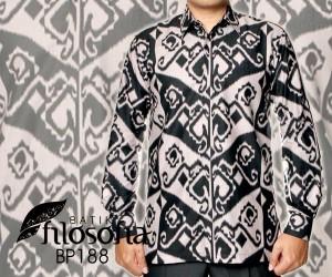 Kemeja Batik Elegan 188
