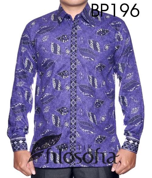 Kemeja Full Batik 196