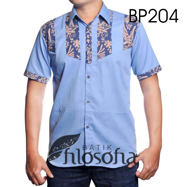 Kemeja Batik Pria 204