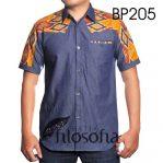Batik Kombinasi Denim 205
