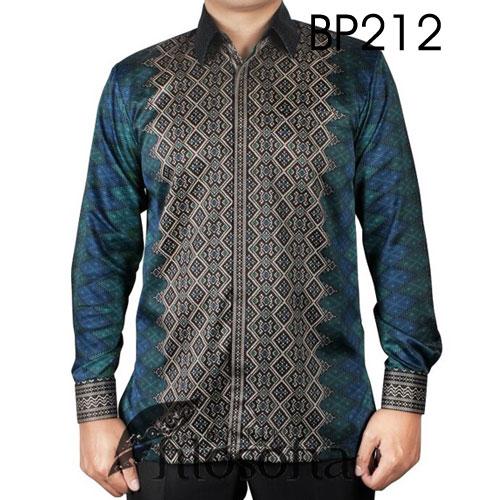 Kemeja Batik Semi Sutra 212