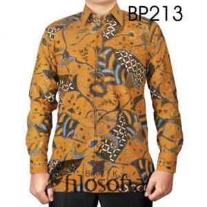 Kemeja Batik Tulis Katun 213