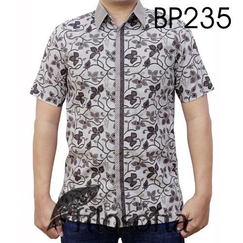 Baju Batik Elegan Lengan Pendek 235