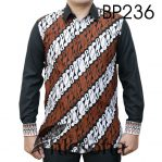 Baju Batik Kombinasi Elegan 236