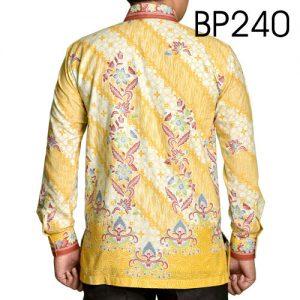 Kemeja Batik Warna Kuning 240
