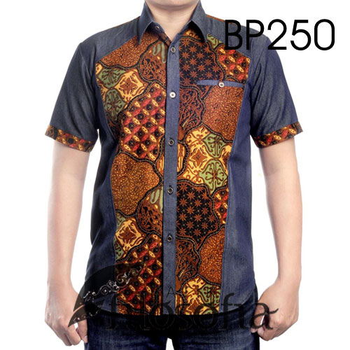 Hem Batik Kombinasi 250