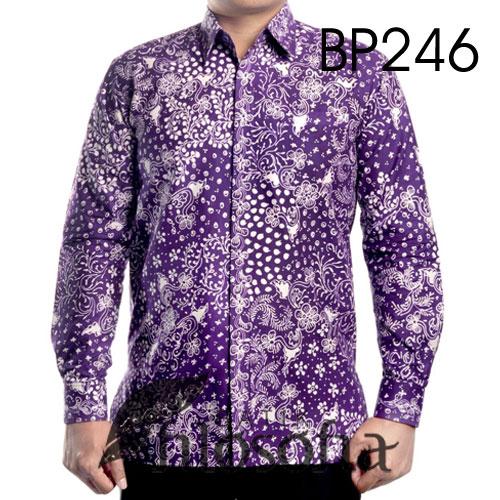 Kemeja Batik Tulis Elegan 246
