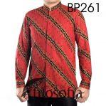 Kemeja Batik Pria Lengan Panjang Terbaru 261
