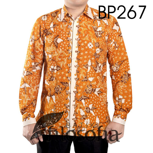 Kemeja Batik Tulis Eksklusif 267